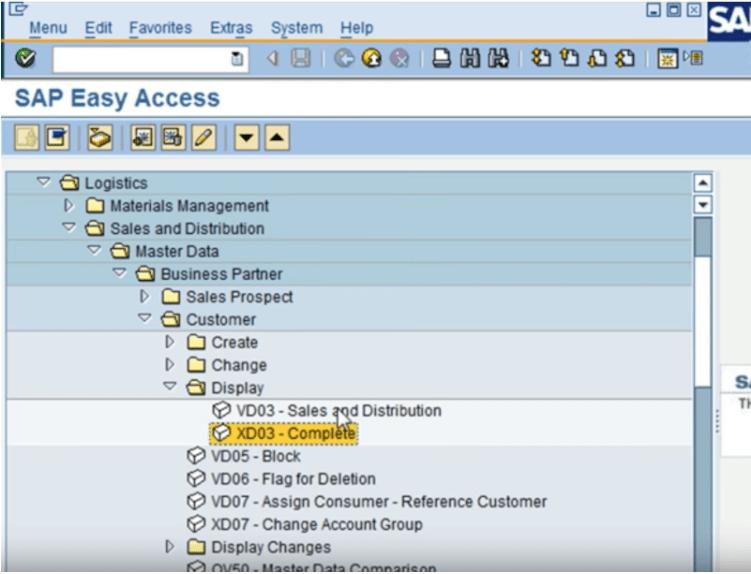 SAP file explorer