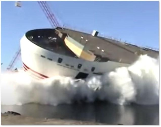 Side-launch Ship