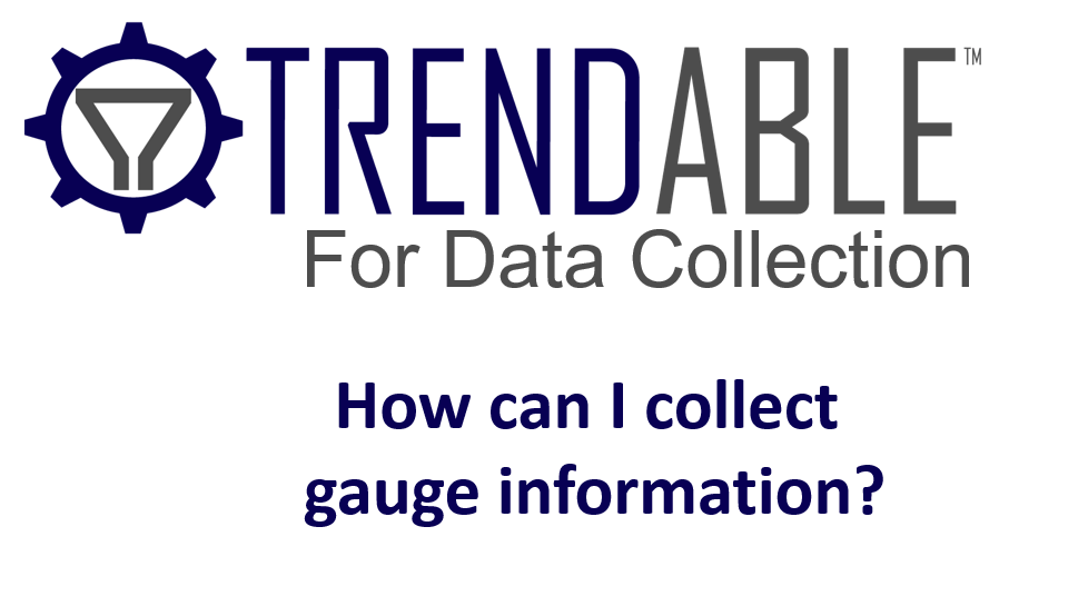 Trendable Gauge Collection