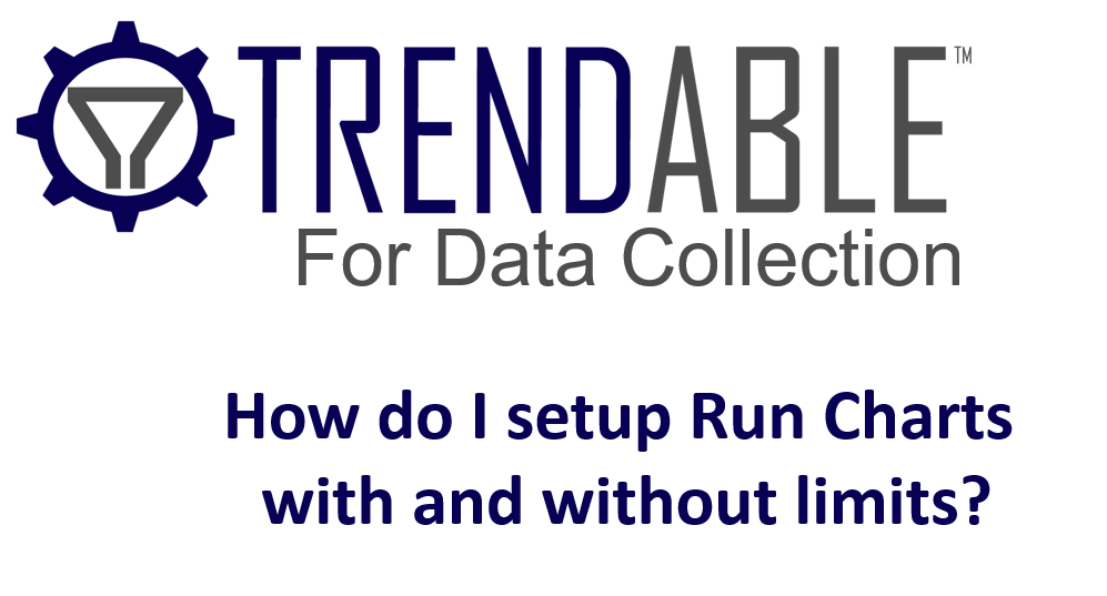 Run Charts in TRENDABLE